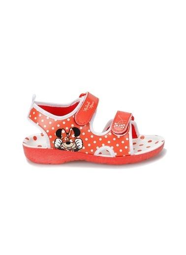 Mickey Mouse Sandalet Kırmızı